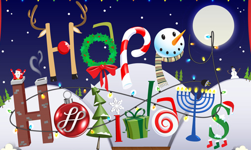 I found this beautiful image here: http://www.pointsoflight.org/blog/2012/12/24/happy-holidays-and-happy-new-year